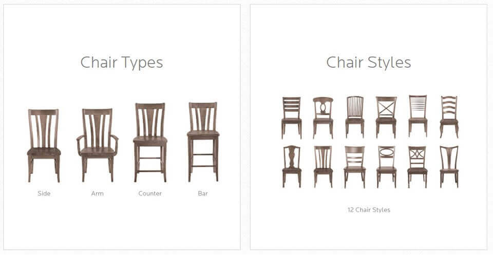 Chair Types & Chair Styles